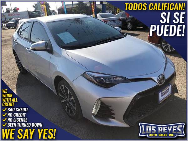Photo 2017 Toyota Corolla SE Sedan 4D (- All Credit Accepted - Approval in Minutes)