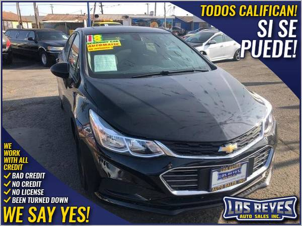 Photo 2018 Chevrolet Chevy Cruze LS Sedan 4D (- All Credit Accepted - Approval in Minutes)
