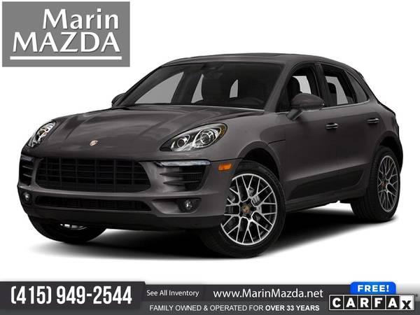 Photo 2018 Porsche Macan S FOR ONLY $580mo - $39,988 (Marin Mazda)