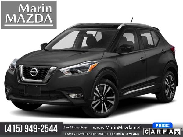 Photo 2019 Nissan Kicks SR FOR ONLY $232mo - $15,988 (Marin Mazda)