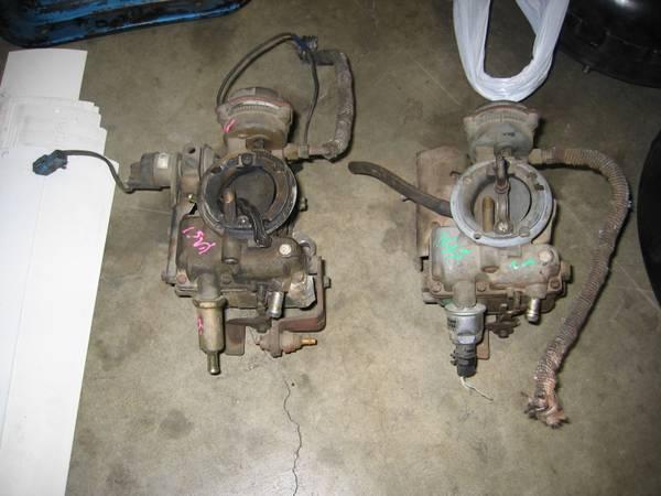 Photo Carter carburetor air cleaner Econoline Ford 6 cylinder 300 240 - $125 (Stockton)