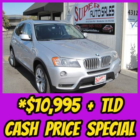 Photo Cash Price Special - 2011 BMW X3 XDRIVE 35i - Bling Bling - $10995 (SUPER AUTO SALES MODESTO)