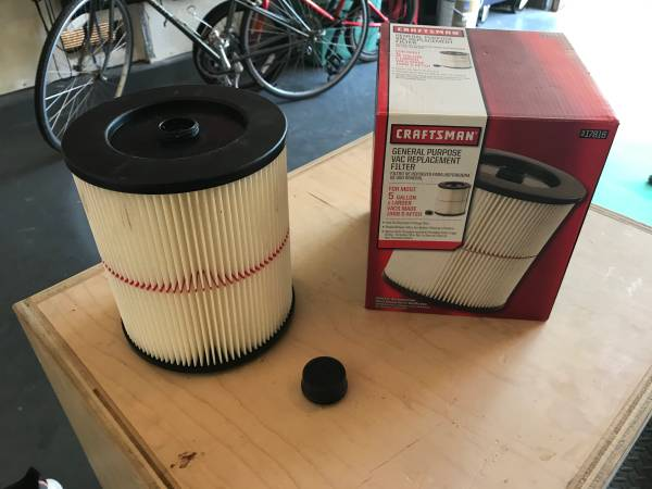 Photo Craftsman shop vac filter new - $10 (Tracy)