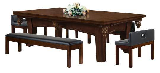 Photo Dining Table is also a Pool Table - $5525 (Stockton)