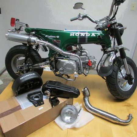 Photo Honda Trail70 1970 Minibike - $4400 (stockton)