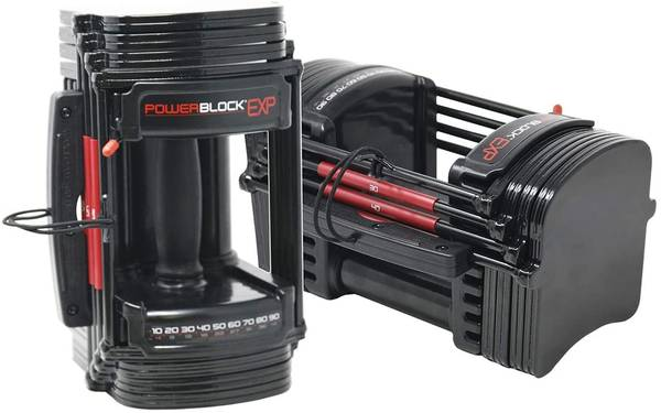 Photo (NEW) PowerBlock EXP Stage 12 (PAIR of dumbbells AND stage 2 exp) - $775 (Stockton)