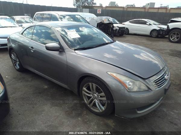 Photo PARTING OUT 2009 INFINITI G37 COUPE CONVERTIBLE  FRONT END  - $1 (3440 SUNRISE BLVD)