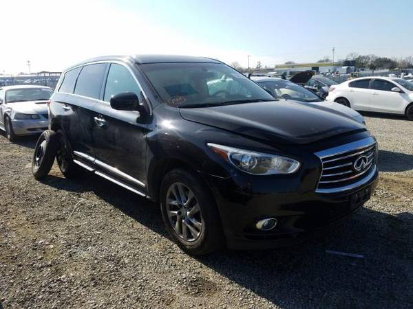 Photo PARTING OUT 2013 INFINITI JX35 QX60  FULL FRONT END  - $1 (Rancho Cordova)