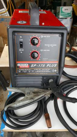 Photo (Relisted) - Lincoln SP-175 Mig Welder - $550 (Lodi)