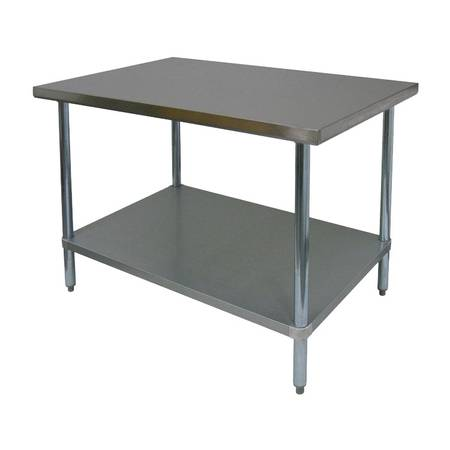 Photo Stainless Steel table - Commercial - $260 (Lodi)