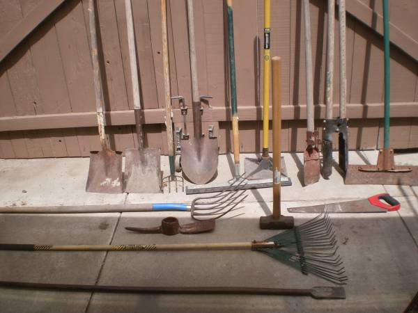 Photo lot of used tools - $70 (Tracy)