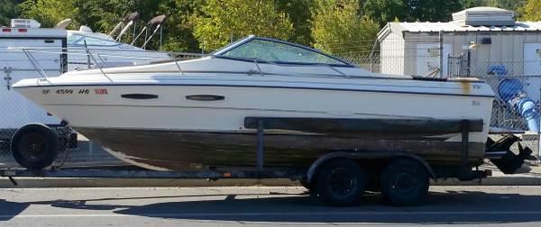 Photo 1984 Sea Ray SRV 210 Cuddy Cabin Project - $850 (South Butte County)