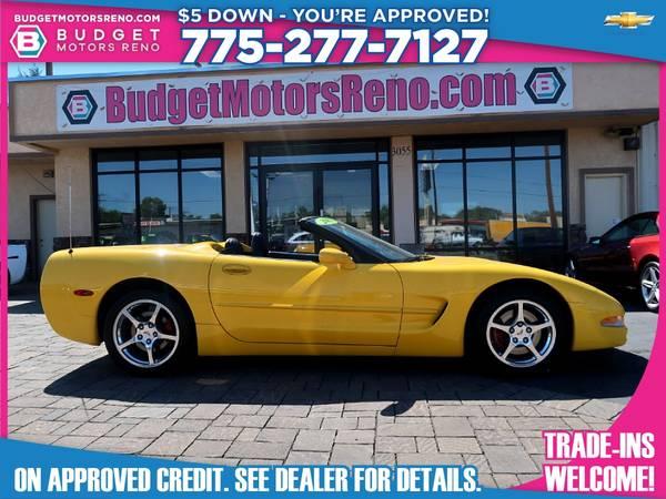 Photo 2002 Chevrolet Corvette - $17,895 (Budget Motors - Reno Nevada)