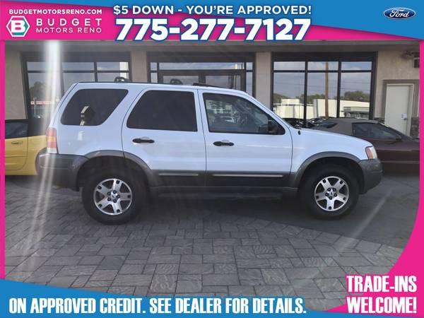 Photo 2003 Ford Escape - $5,990 (Budget Motors - Reno Nevada)