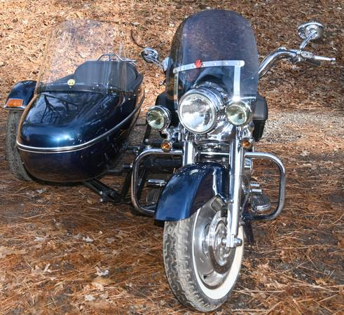 Photo 2004 Harley with sidecar - $14,500 (Nevada City)