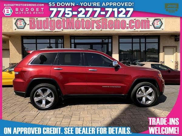 Photo 2014 Jeep Grand Cherokee - $21,895 (Budget Motors - Reno Nevada)