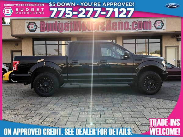 Photo 2016 Ford F150 F 150 F-150 - $37,895 (Budget Motors - Reno Nevada)