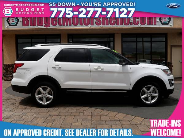 Photo 2017 Ford Explorer - $28,895 (Budget Motors - Reno Nevada)