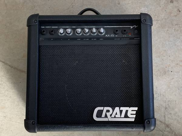 Photo Crate KX-15 Amp - $85 (Grass Valley)