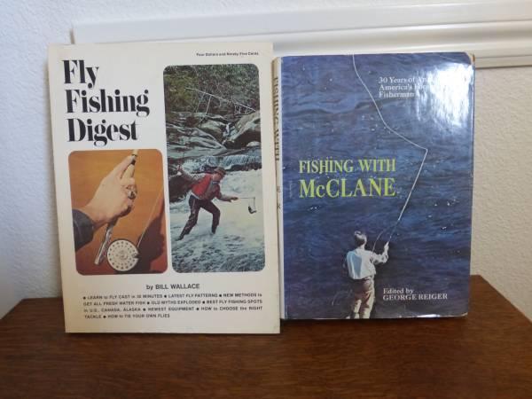 Photo Fly Fishing DigestFishing wMcClane - $10 (Minden)