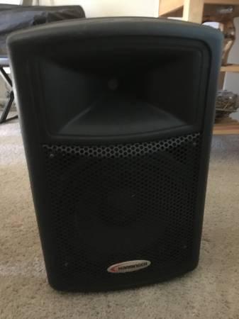 Photo Harbinger 150w powered  speaker - $80 (chicoparadiseoroville)