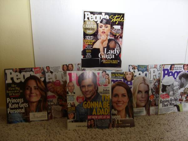 Photo Set of 30 People Magazines Group 1 - $10 (Sparks)