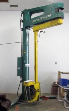 Photo Signode Spiralgrip 310 plastic wrap machine - $1,500 (Carson City Nv)