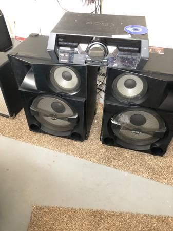 Photo Sony HCD Stack 5 Audio System - $500 (Fallon)