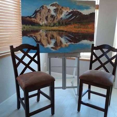 Photo Two Bar stools - $130 (Susanville)