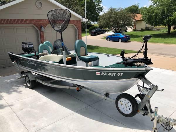 Photo 2000 Lund Rebel SS Adventure boat - $8,500 (Augusta, KS)