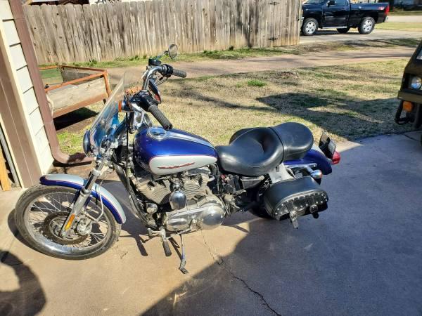 Photo 2006 Harley Davidson Sportster 1200 - $3,500 (Sedgwick)