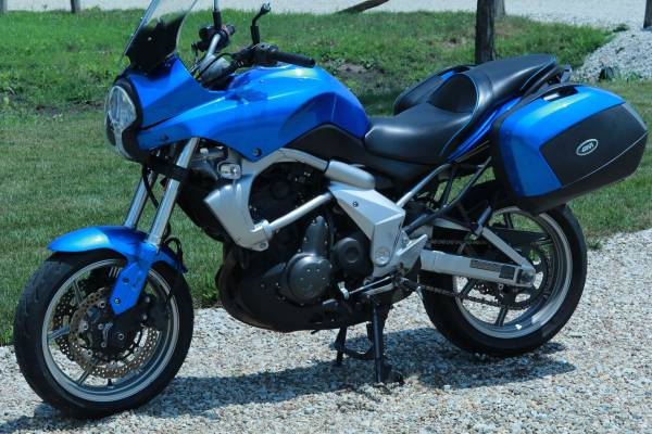 Photo 2009 Kawasaki versys (salvage title) - $1,500 (avondale)