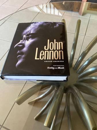 Photo John Lennon book - $15 (Westcliffe)