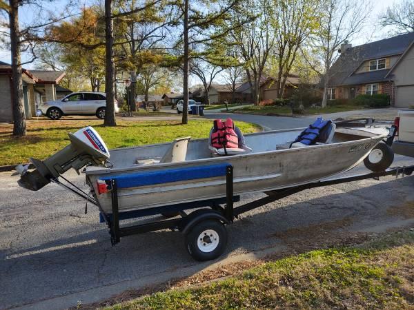 Photo Ozark 14 foot Boat - $1,500 (Lipscomb, Tx)
