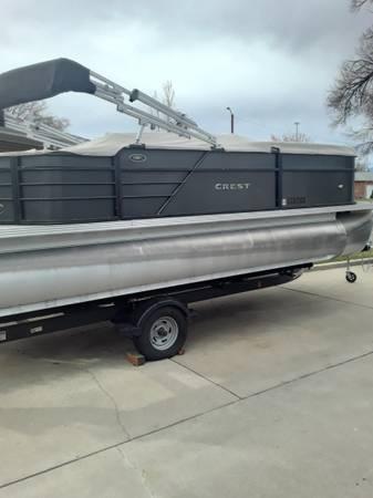 Photo Pontoon Boat - $28,750 (Pueblo)