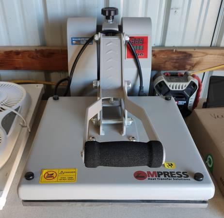 Photo Shirt press and Screen Printing Kit - $150 (Fritch)