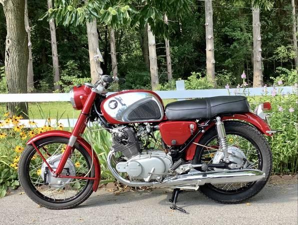 Photo 1966 Honda CB77 Super Hawk - $4,000 (South Bend)