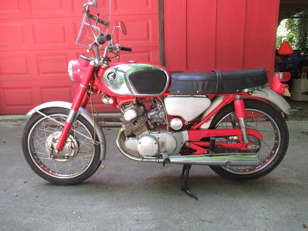 Photo 1966 Honda CB 160 Sport - $1,950 (South Haven)