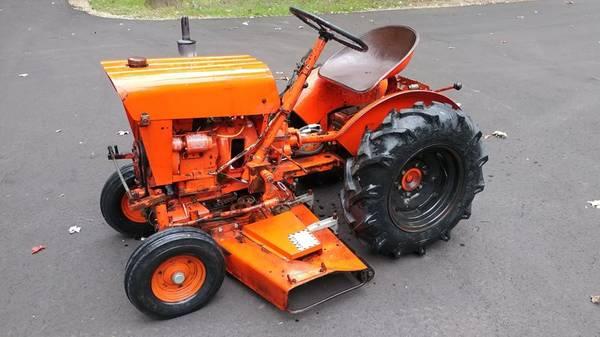 Photo 1972 Economy Jim Dandy Garden Tractor - $900 (Mattawan)