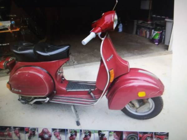 Photo 1980 Vespa P200E - $1,500 (Mishawaka,Indiana)