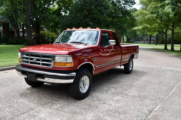Photo 1997 Ford F250 XLT 7.3 4x4 1 owner no rust - $19,950 (Tulsa, ok)