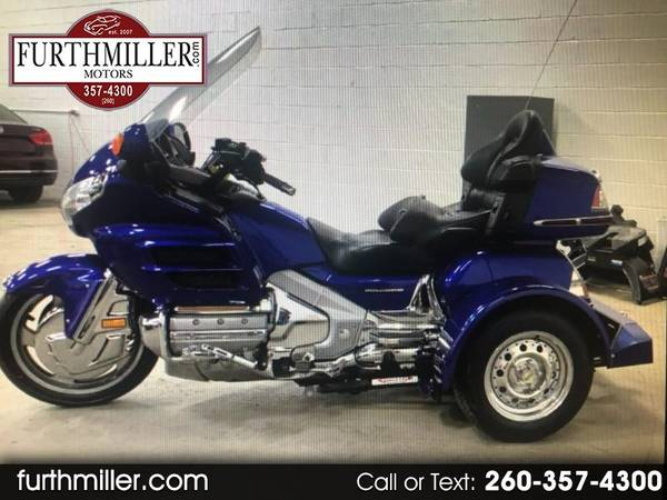 Photo 2001 Honda Goldwing GL1800 3 Wheel Trike Conversion Illusion Blue 34k - $10,500 (AuburnGarrett)