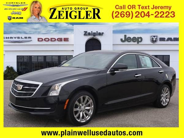 Photo 2017 Cadillac ATS Sedan 2.0T Luxury - $19,995 (_Cadillac_ _ATS Sedan_ _Sedan_)
