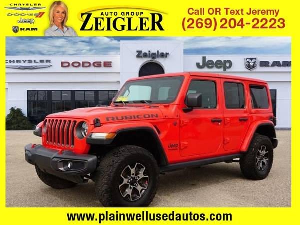 Photo 2018 Jeep All-New Wrangler Unlimited Rubicon - $42,995 (_Jeep_ _All-New Wrangler Unlimited_ _SUV)