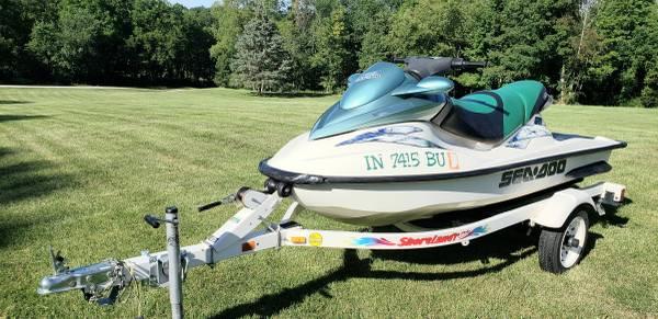 Photo 3 Seater Sea-Doo GTI Jet Ski (Read ENTIRE Ad BEFORE Contacting Me) (Grand Rapids, Mi. area)