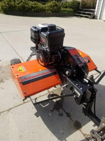 Photo DR Roto Hog Power Tow Behind Tiller - $1350 (Bridgman)