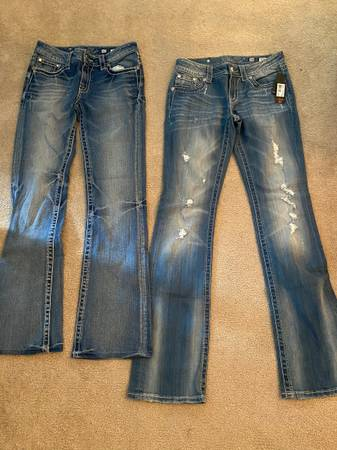 Photo Miss Me jeans 28  30 - $100 (South Haven)