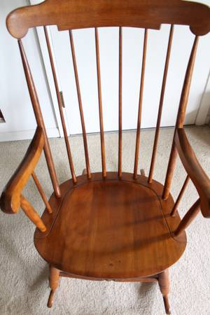 Photo Nichols and Stone Windsor Rocking Chairs - $60 (New Buffalo, MI)