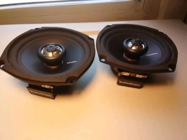 Photo Rockford Fosgate Prime 5.25-Inch Full Range Speakers - $40 (Three Rivers)