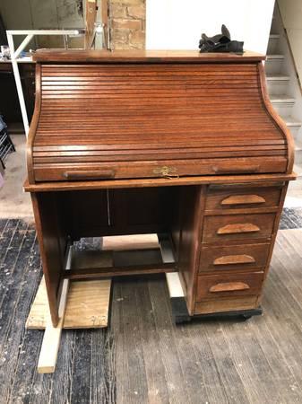 Photo Roll Top Desk - $125 (Marcellus)
